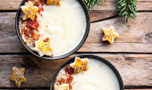 Soupe de panais au parmesan