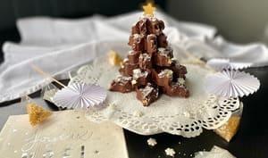 Sapin croustillant au chocolat