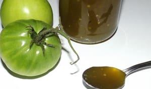 Confiture classique de tomates vertes