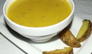 Soupe aux restes de potatoes