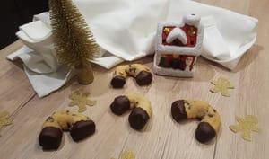 Fers à cheval noisette et chocolat