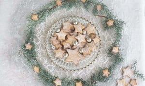 Sablés aux épices de Noël à la patate douce