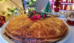 Pâté de Noël au faisan veau et foie gras
