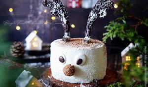 Gâteau d'anniversaire rudolphe le renne