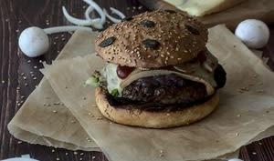 Mon burger montagnard