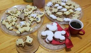Biscuits sablés au zeste d'orange et chocolat