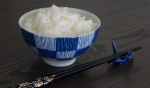 La cuisson du riz japonais