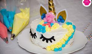 Gâteau d'anniversaire Licorne