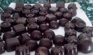Chocolat crème caramel au beurre salé et noix de cajou