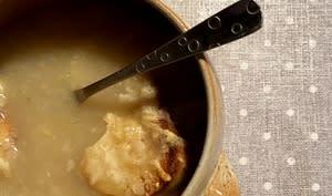 Soupe à l'oignon Healthy