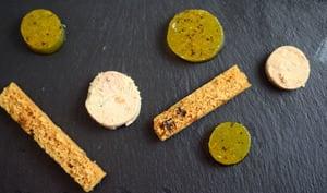 Gelée de vin blanc moelleux pour foie gras