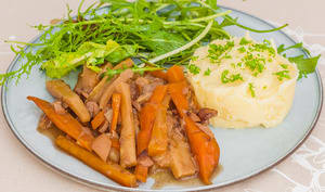 Bourguignon végétarien