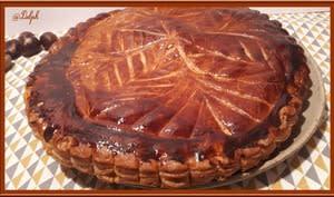 Galette des rois à la crème d'amande et marron