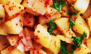 Salade de Pommes de terre pimentées au gochugaru