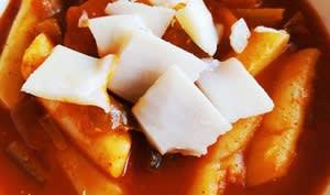 Tteokbokki à la sauce pimentée