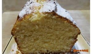Cake au citron à la semoule