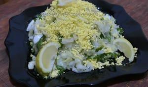 Salade de chou mimosa