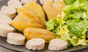 Boudin blanc aux poires
