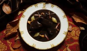 Lapin de garenne cuisiné en civet