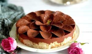 Fondant Pomme Chocolat en Pétales