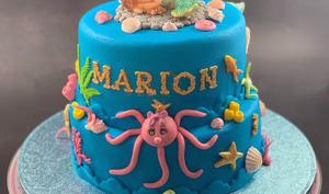 Mon gâteau La Petite Sirène endormie