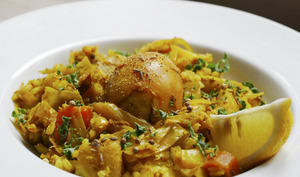 Légumes et oeufs façon Sri-Lankaise