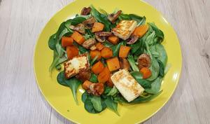 Salade hivernale sucré salée