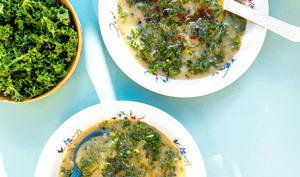 Caldo verde, la soupe portugaise emblématique