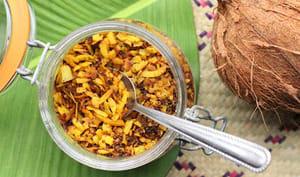 Condiment coco à l'Indonésienne
