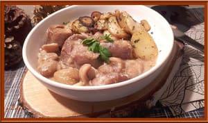 Filet mignon de porc aux marrons et abricots