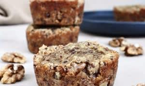 Muffins aux bananes à la farine de noix de coco
