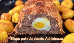 Pain de viande Ashkénaze