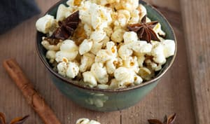 Pop corn aux épices chaï