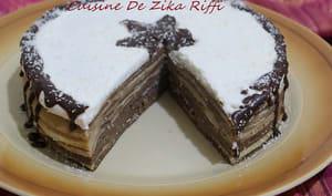 Gâteau de crêpes chantilly ricotta