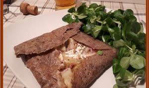Galette de sarrasin au camembert