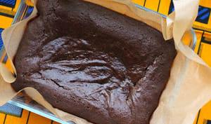 Brownies au tahini et à la mélasse de Caroube