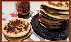 Pancakes au lait concentré sucré