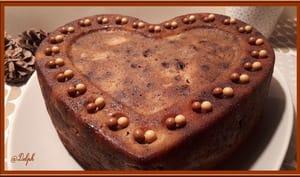 Gâteau aux poires chocolat amandes et noisettes