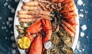 Sauces exotiques pour plateau de fruits de mer