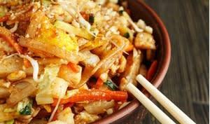 Pad Thaï aux petits légumes