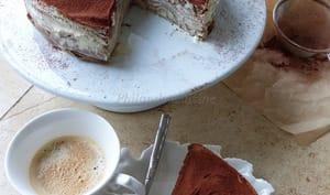Gâteau de crêpes façon Tiramisu
