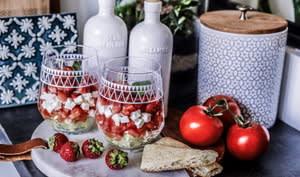 Verrines fraîches sucré-salé