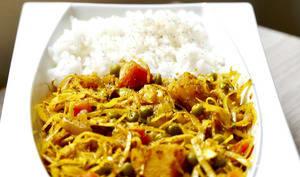 Bandha Gobi revisité en cuisson douce