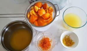 Gelée d'oranges ou de citrons