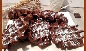 Gaufre brownie