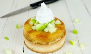Tarte aux pommes caramélisées sans gluten