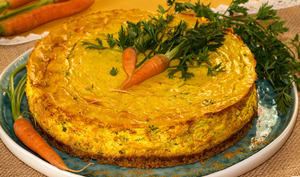 Cheese cake aux carottes à l'indienne