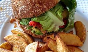 Buns pour hamburger au levain
