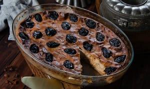 Far breton sarrasin pruneaux raisins