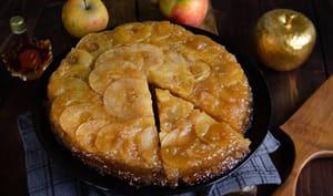 Gâteau renversé pommes érable